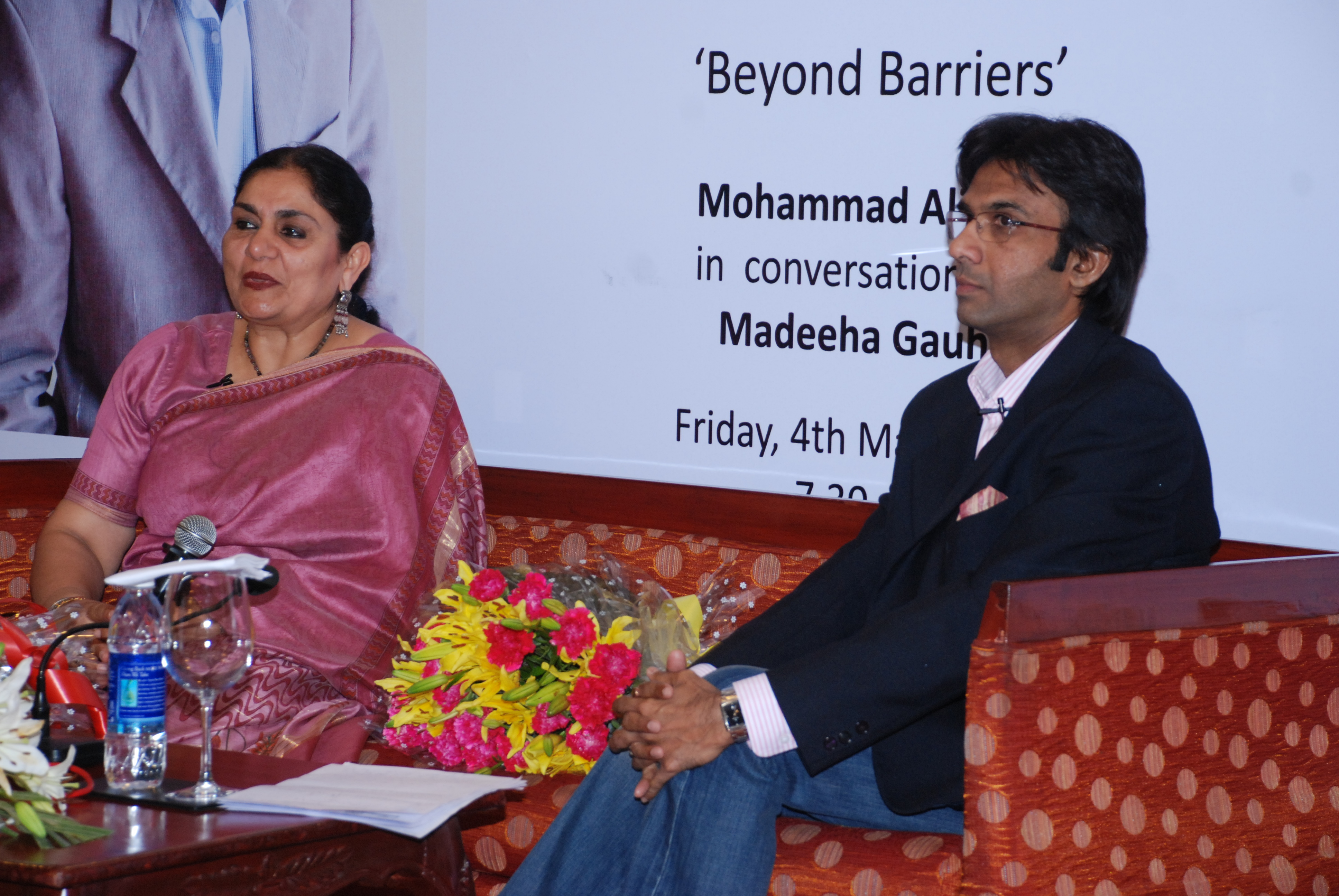 Madeeha Gauhar in conversation with Mohammad Ali Baig on 'Beyond Barriers'