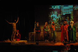 Ajoka Theatre's play 'Dara' being staged at Qadir Ali Baig Theatre Festival 2011