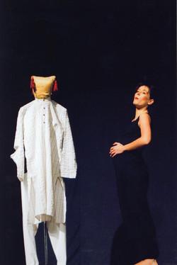 Anne Bressanges' 'Lecon de Anatomie' at Qadir Ali Baig Theatre Festival 2008