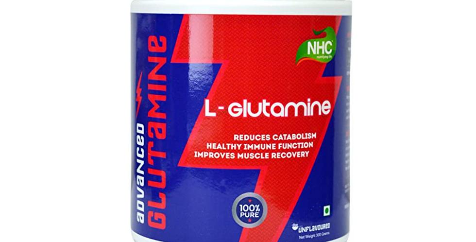 NHC - Advanced Glutamine (100% Pure L- Glutamine, Unflavoured) 300 g