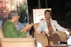 Mahesh Dattani and Mohammad Ali Baig in conversation in 'Playwriting Today'