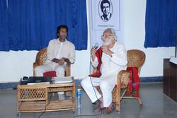 Mohammad Ali Baig & M.S. Sathyu at 'Celebrating Theatre' Workshop