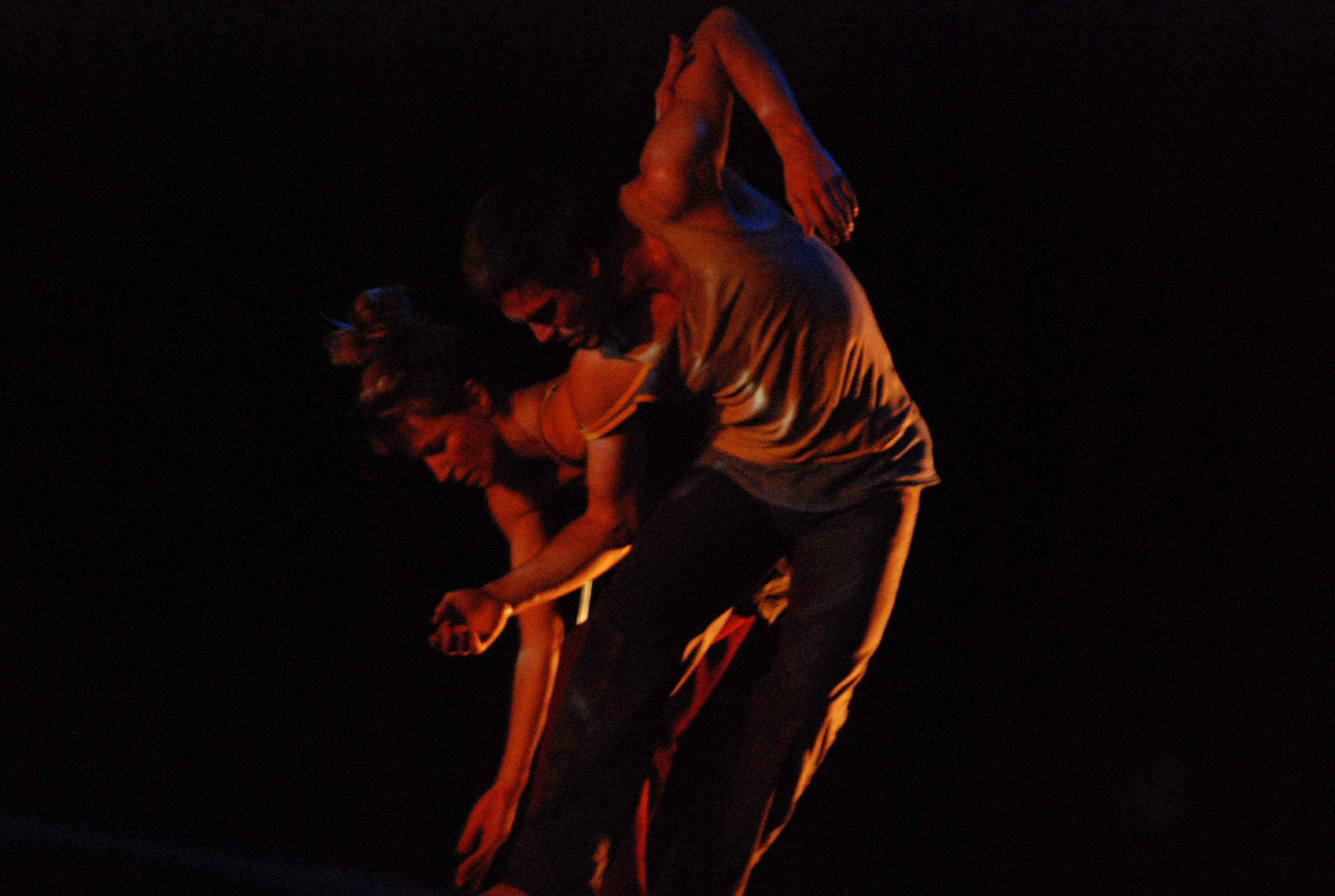 Victoria Hauke in 'Else' with Olaf Reinecke  at Qadir Ali Baig Theatre Festival 2009