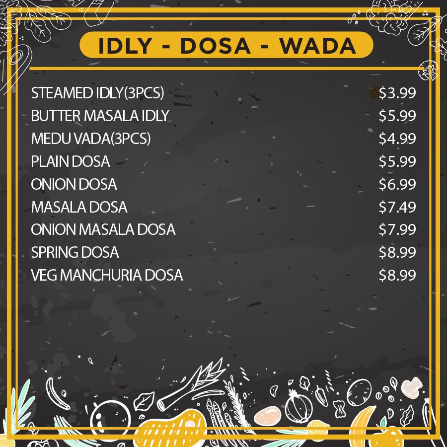 Idly-Dosa-Wada