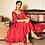 Thumbnail: Cinnabar Henna Red Dress