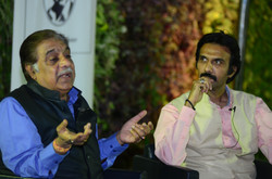 Aanjjan Srivastav in conversation with Mohammad Ali Baig on 'Comic to Cathartic'