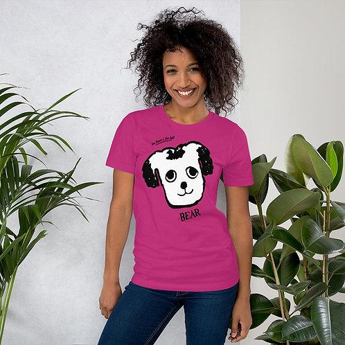 Short-Sleeve Unisex T-Shirt Bear & Rat Faces