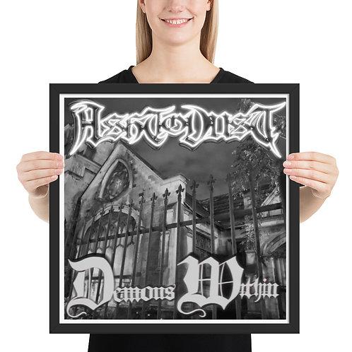 Demons Within Framed Poster
