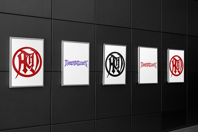 mockup-of-five-posters-on-a-modern-wall-