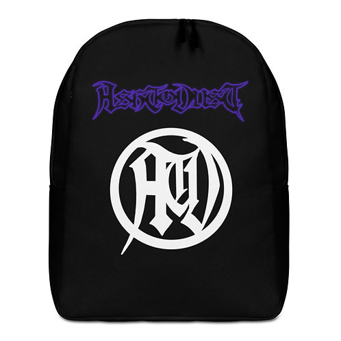 Purple Ash To Dust Backpack