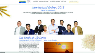 NEW HOLLAND CAMPAIGN EXPO 2015