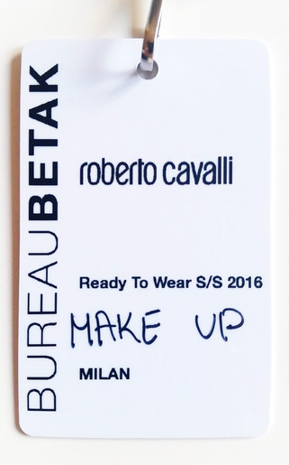 ROBERTO CAVALLI - MILAN FASHION WEEK SS16