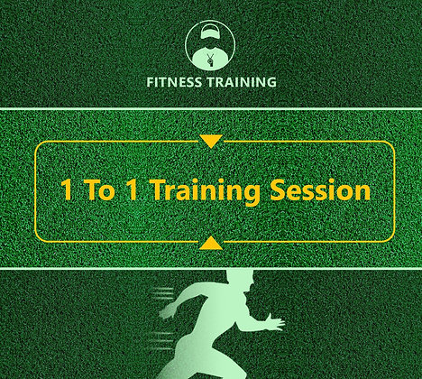 1 to 1 Fitness Training Session