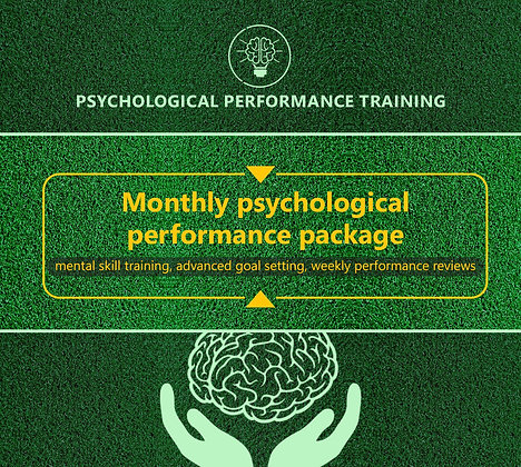 Psychological Performance Package (Monthly)