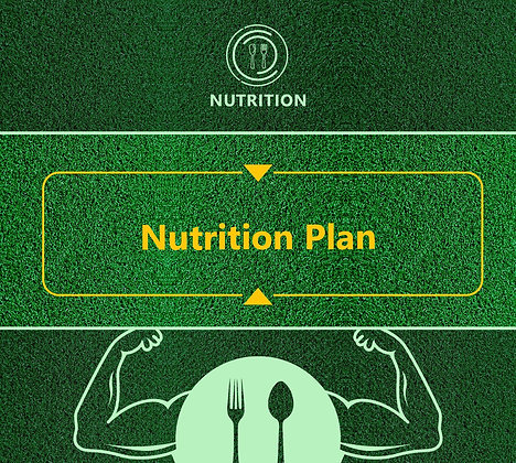 Tailored Nutrition Plan