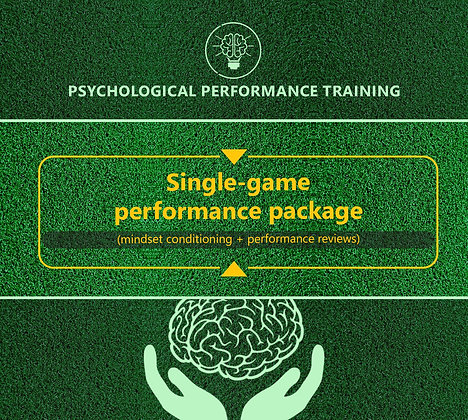 Game Performance Package (One Match)