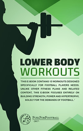 Football-Specific Lower Body Workouts