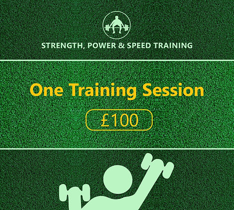One Training Session (Strength/Power & Speed)