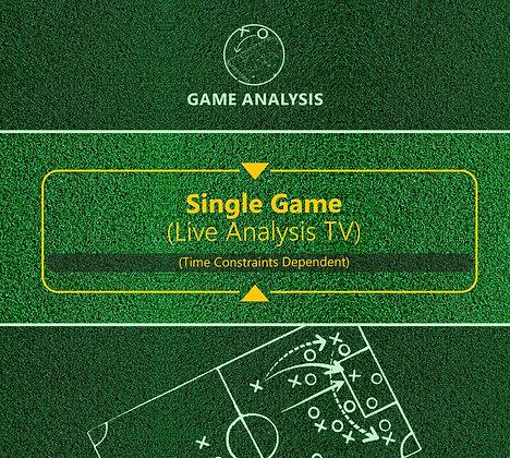 Live Game Analysis (TV)