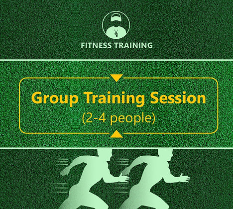 Group Fitness Training Session  (2-4 Players)