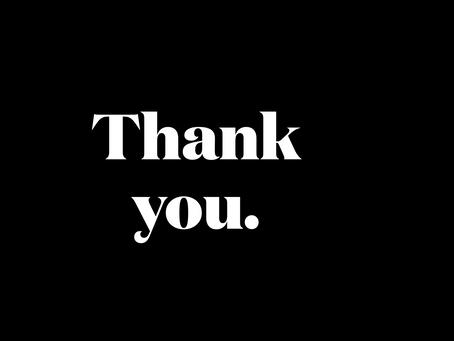 Thankful AF, For You