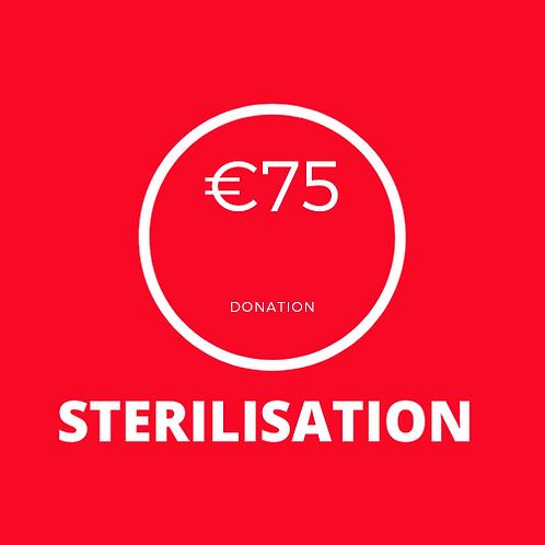 Sterilisation Donation
