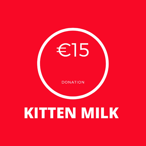 Kitten Milk Donation