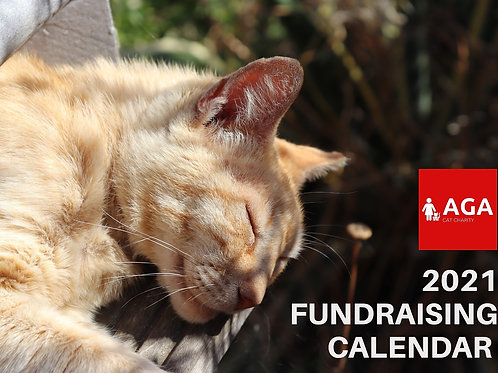 USA/Canada Postage 2021 AGA Cat Charity Fundraising Calendar