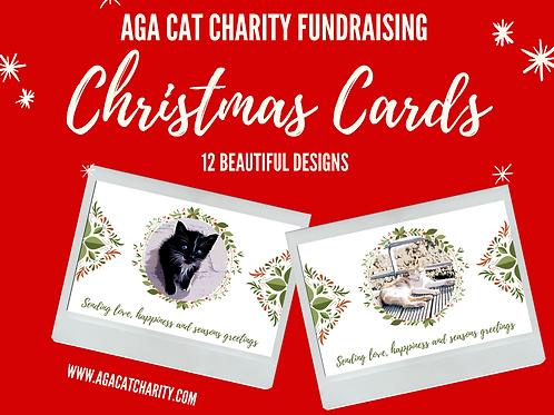 Copy of Official AGA Christmas Cards Set of 12 includes EU postage