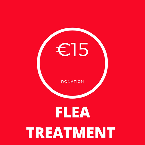 Flea Treatment Donation