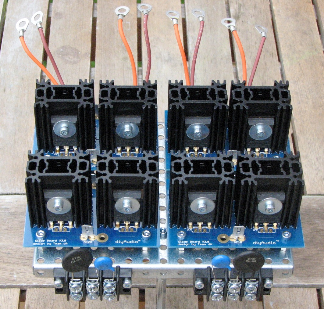 Power supply rectifiers