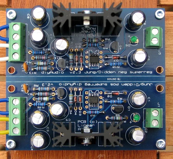 Super Regulator PCB completed