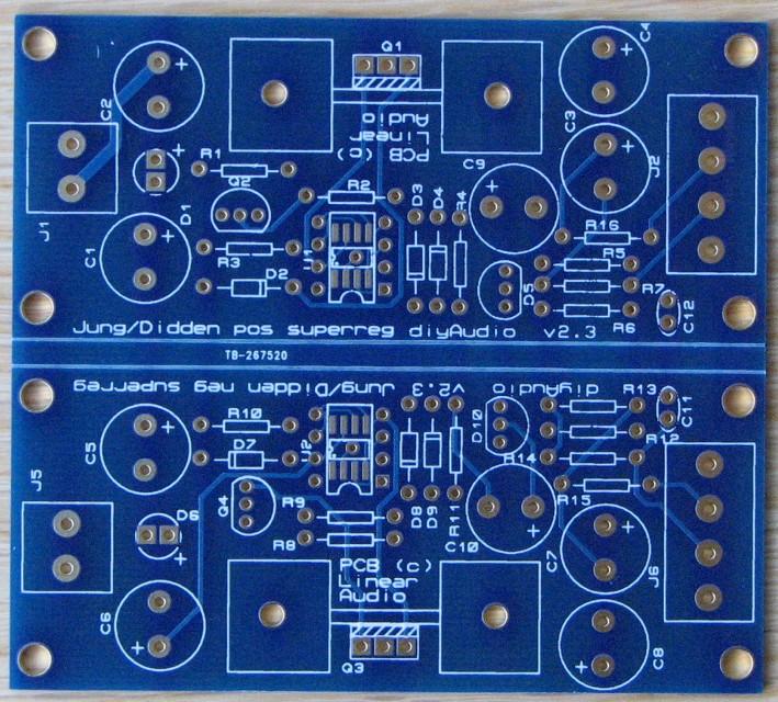 Super Regulator PCB