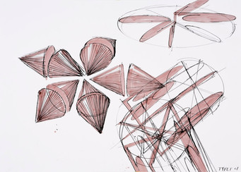 rok: 2008 technika: kresba na papíře velikost: 70 x 50 cm