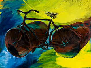 Tour de France in Yellow