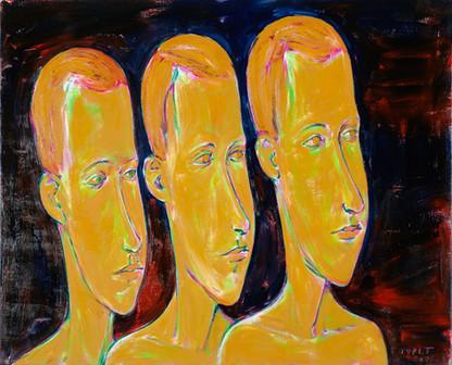 Tři okroví mladíci