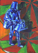 rok: 2006 technika: tempera na papíře velikost: 50 x 70 cm
