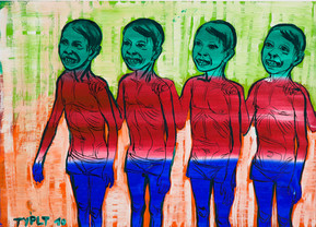 Jahr: 2010 Technik: Tempera auf Papier Größe: 50 x 70 cm
