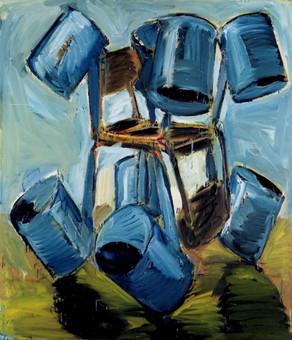 Vodní elektrárna v modré