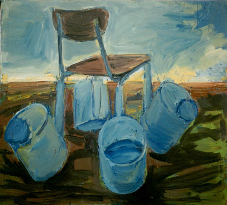 Židle pro Caspara Davida Friedricha