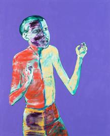 Loner in Purple
