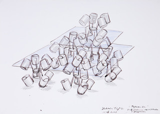 rok: 2003 technik: tempera na papíře