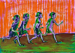 year: 2011 technique: tempera on paper size: 50 x 70 cm