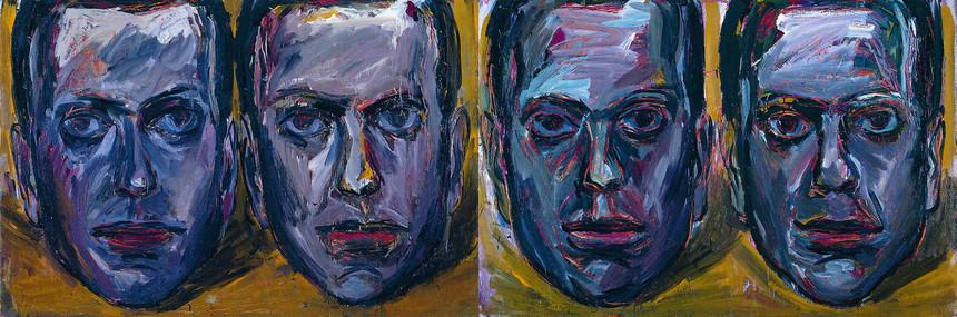 Selbstportrait I & Selbstportrait II