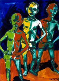 year: 2007 technique: tempera on paper size: 70 x 50 cm