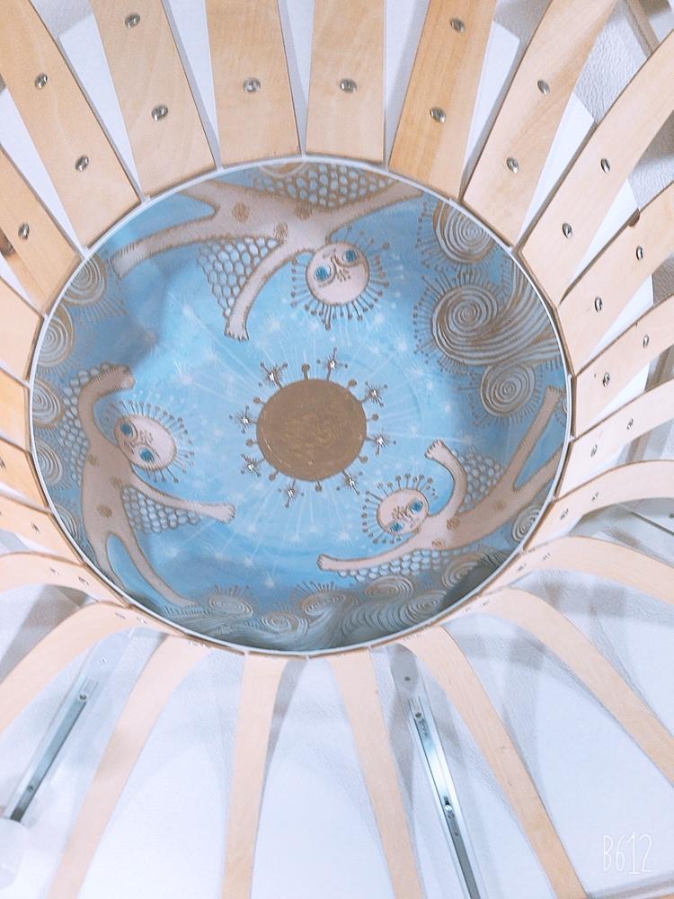 天井画angel