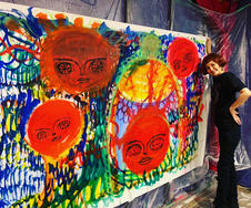 Live Painting Work