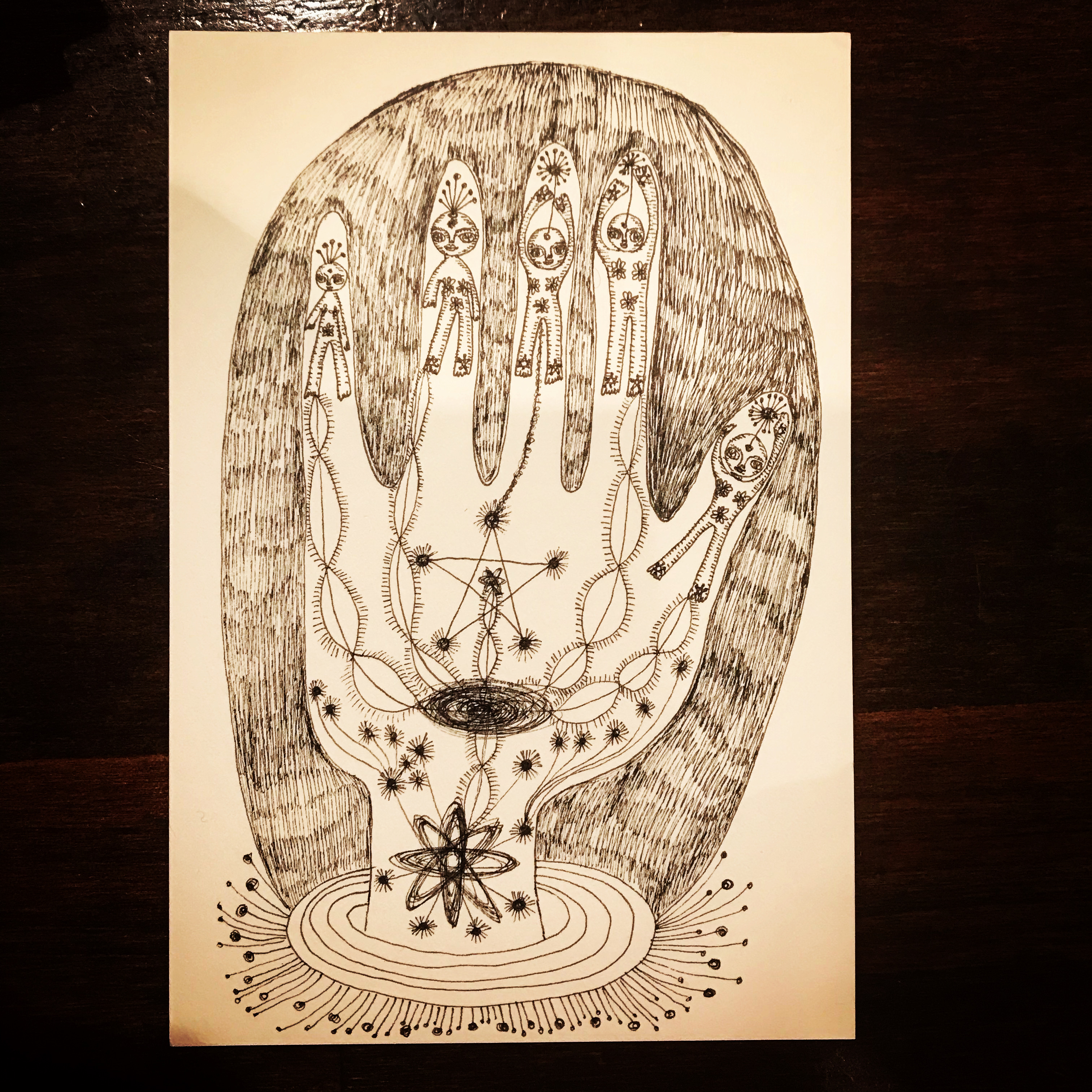 hand of universe