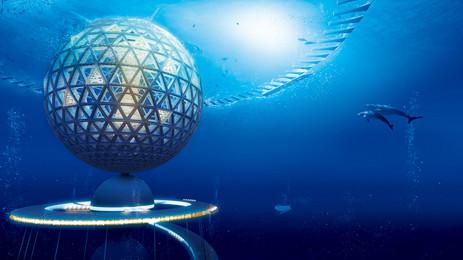 Underwater Cities in Future - Ocean Spiral