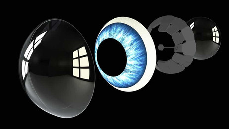 A Day in Future with Smart Contact Lens would be like...